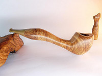 une pipe d'Abi Natur, Canaan Pipes